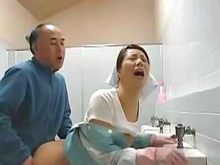 Asian Clothed Doggystyle  Orgasm Toilet  Toilet Asian
