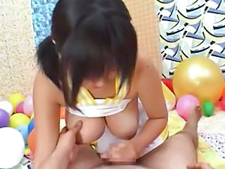 Asian Handjob Natural Nipples Small cock Handjob Cock Handjob Asian Milk Small Cock