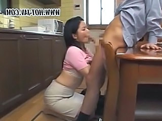 Jpn mature blowjob