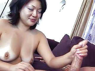 Asian Handjob   Asian Babe Tits Job  Handjob Asian