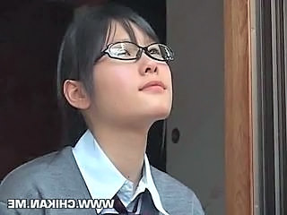 Asian Glasses Student Teen Uniform Asian Teen Teen Ass Glasses Teen Teen Asian