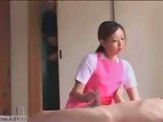 Asian  Handjob Japanese  Small cock Voyeur  Handjob Cock Handjob Asian   Small Cock