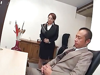 Asian Glasses  Office Pantyhose      Panty Asian