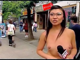 Asian Glasses  Nudist Public   Public Asian Public