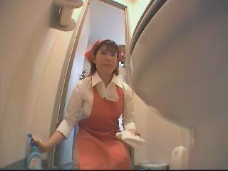 Asian Japanese Maid  Toilet Uniform   Toilet Sex Toilet Asian