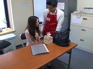 Asian HiddenCam Office Caught