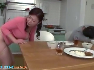 Asian Japanese Kitchen  Blowjob Japanese   Japanese Busty Japanese Blowjob
