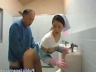 Asian Nurse Old and Young Toilet Old And Young Nurse Asian Nurse Young Public Asian Public Toilet Toilet Public Toilet Asian Public