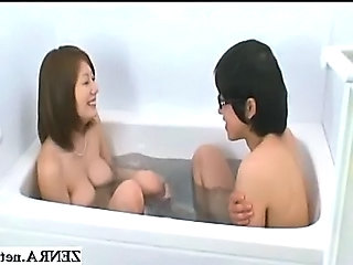 Asian Bathroom Japanese  Natural Bikini  Bathroom