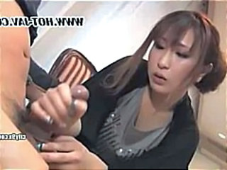 Asian  Handjob   Handjob Asian Handjob Busty Drilled  Handjob Compilation