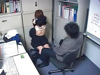 Asian HiddenCam Japanese Office Stripper Voyeur