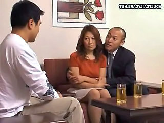 Asian Drunk Mom Threesome Mother Married
