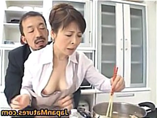 Japanese Kitchen Mature Asian Mature Japanese Mature Kitchen Mature Mature Asian