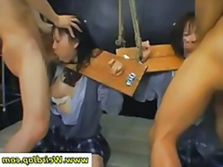 Asian Bdsm Bondage Deepthroat Asian Cumshot BDSM
