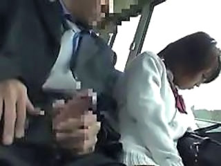 Asian Bus Handjob Japanese Handjob Asian