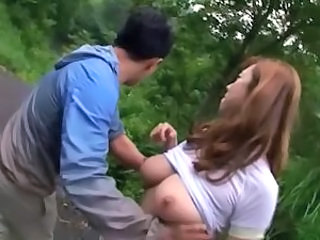 Asian Big Tits Japanese  Natural Outdoor Asian Big Tits  Big Tits Asian Outdoor