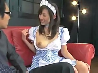 Asian Maid  Uniform  Mother Milk Lactation Spy