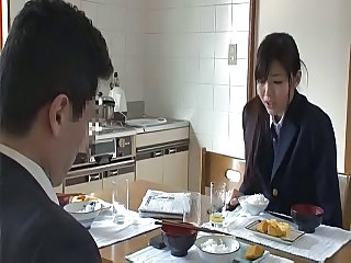 Asian Daughter Japanese Kitchen Student Teen Uniform Teen Japanese Teen Daughter Asian Teen Daughter Japanese Teen Kitchen Teen Teen Asian
