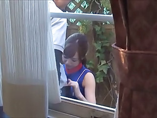 Asian Blowjob Outdoor Voyeur Outdoor