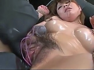 Asian Hairy Machine Oiled