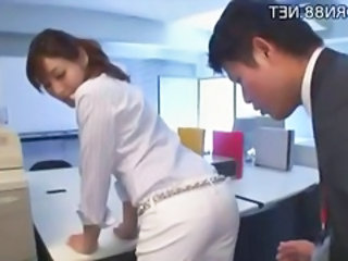 Asian Ass Japanese Office Secretary