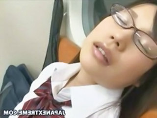 Asian Glasses Japanese Public Student Uniform Public Asian Public