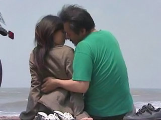 Asian Beach Japanese Kissing Outdoor Outdoor