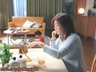 Asian Drunk Japanese  Mom Old and Young Old And Young