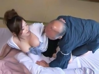Asian Daddy Japanese  Old and Young Wife Daddy Old And Young  Japanese Wife   Wife Young Wife Japanese