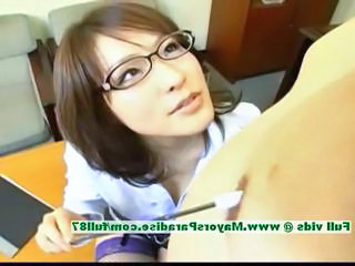 Asian Chinese Glasses  Stockings Teacher Chinese Stockings    Teacher Asian Innocent