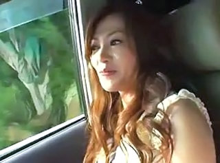 Asian Car Japanese Pornstar