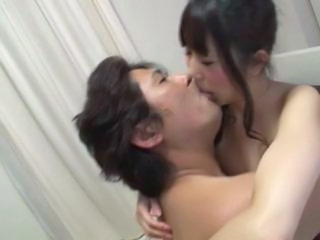 Asian Japanese Kissing Office Old and Young Old And Young