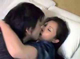 Asian Japanese Kissing Mom