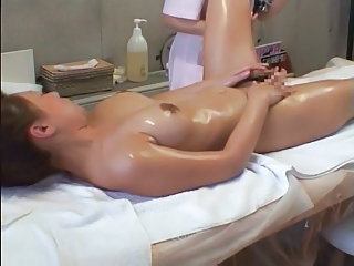 Asian Massage Oiled Voyeur Massage Asian Massage Oiled Oiled Ass