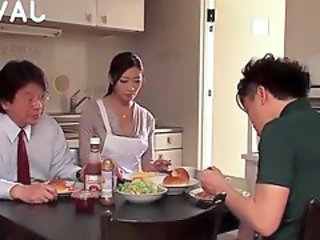 Asian Family Japanese Kitchen  Wife Family  Japanese Wife   Wife Japanese