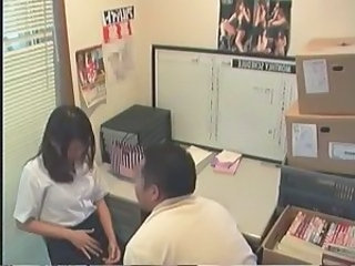 Asian HiddenCam Japanese Office