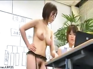 Asian Japanese  Office Public Secretary     Public Asian Public
