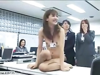 Asian Game Japanese  Office Secretary Stripper
