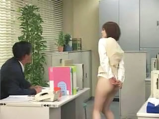 Asian Office Public Secretary Panty Asian Public Asian Public