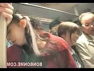 Asian Bus Daughter Mom Old and Young Public Daughter Mom Daughter Old And Young Mom Daughter  Public Asian Public