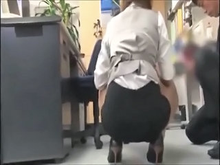 Asian Ass Office Secretary