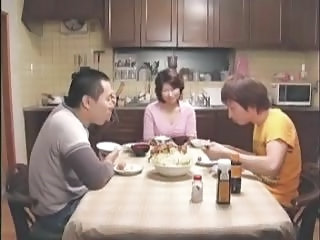 Asian Family Kitchen Mature Mom Old and Young Asian Mature Old And Young Family Kitchen Mature Mature Asian