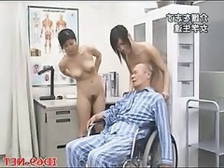 Asian Daddy Doctor Japanese Old and Young Daddy Old And Young Japanese Doctor