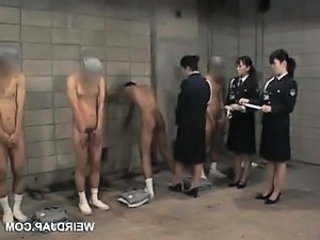 Asian Prison Uniform Son Dirty Police