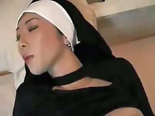 Asian  Nun Pornstar Uniform