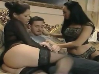 Asian Stockings Threesome Vintage Stockings