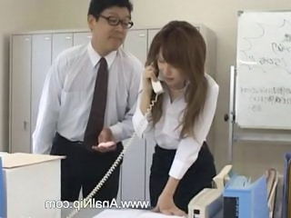 Asian Nipples Office Secretary Milk