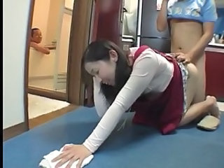 Asian Clothed Doggystyle Japanese  Mom Old and Young Old And Young   Mother