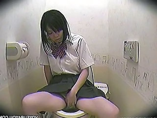Asian HiddenCam Masturbating Toilet Bathroom Masturb Surprise Hidden Toilet Bathroom Toilet Asian