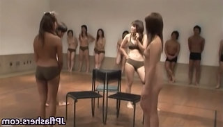 Asian Japanese Party Public Public Asian Flashing Public